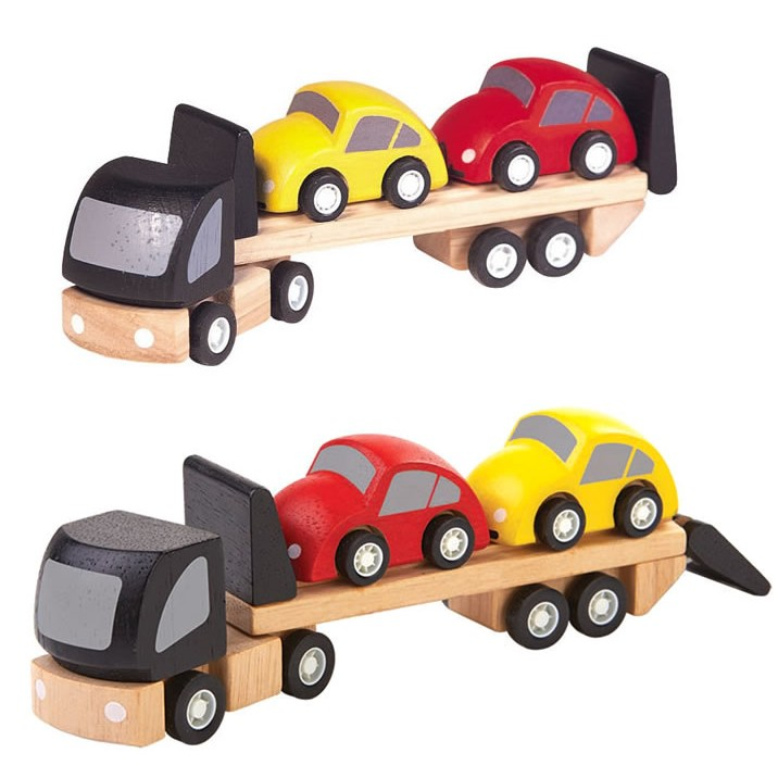 Plan toys 6227 wooden parking garage quick woodworking for Toy garage plans free download