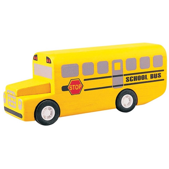 Plan Toys School Bus Planworld