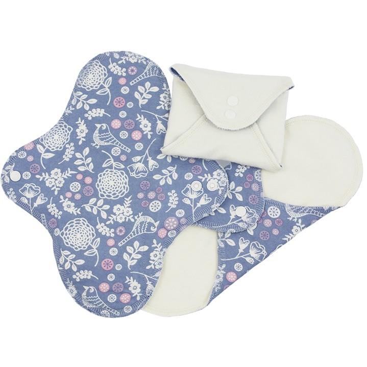 Imse Vimse Cloth Pad Starter Kit Garden