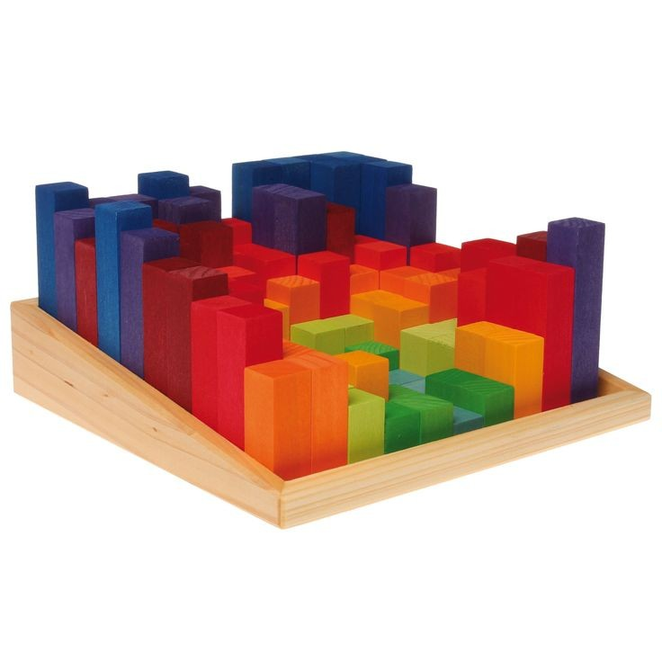 Grimm S Large Stepped Counting Blocks
