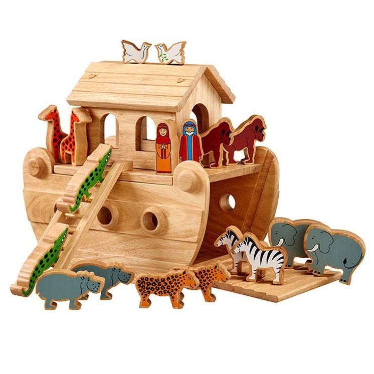 Lanka Kade Junior Natural Noah S Ark Amp 18 Coloured Characters