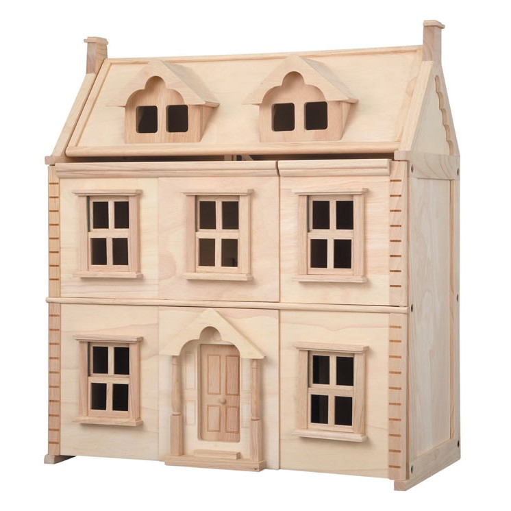 Plan toys victorian dolls house for Victorian birdhouse plans free