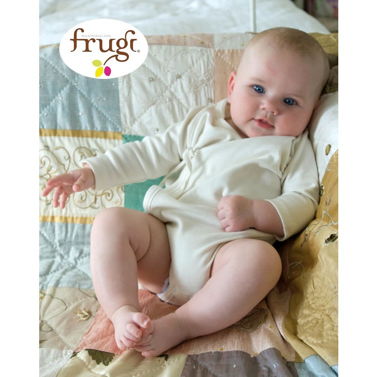 4f096a6ca Organic Baby Clothes - Unbleached Kimono Bodies Frugi