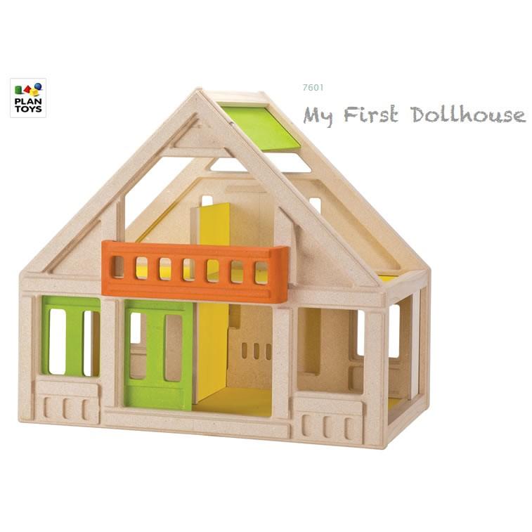 Plan Toys First Dollhouse 32