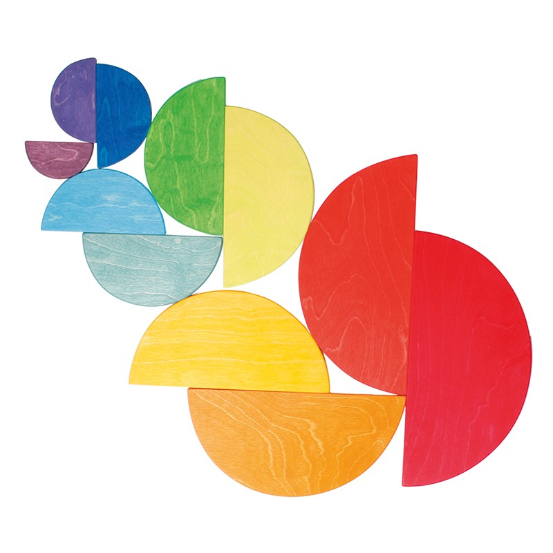 Grimm S Rainbow Semi Circles