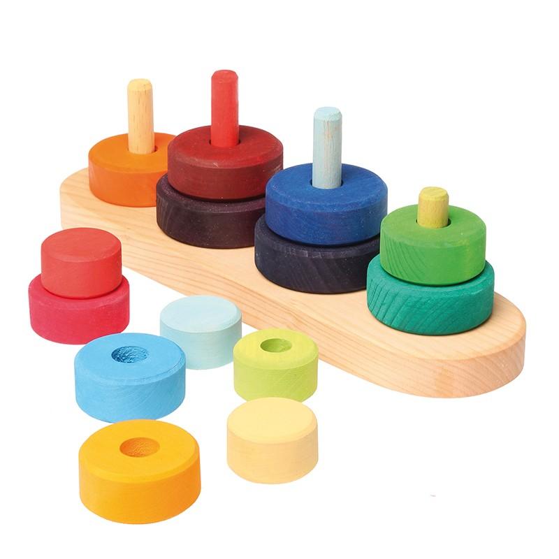 Kids Stacking Toys : Grimm s fabuto stacking toy