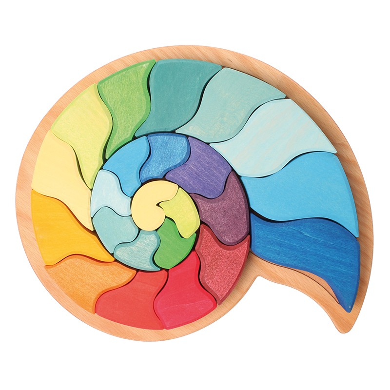 Grimm 39 s ammonite snail puzzle - Lounger for the garden crossword ...