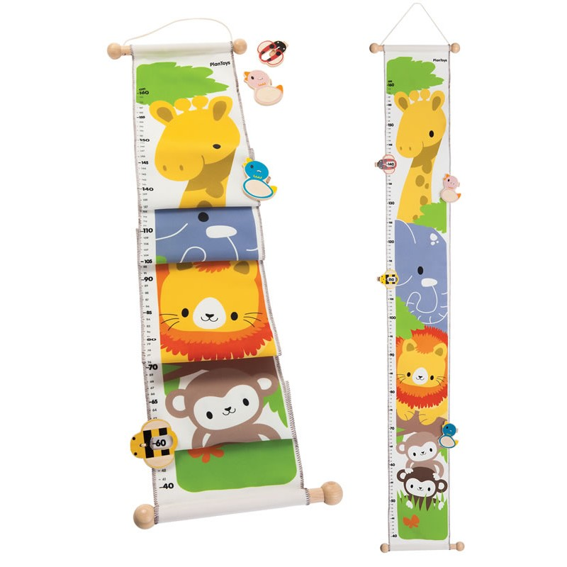 Plan Toys Animal Height Chart 5191