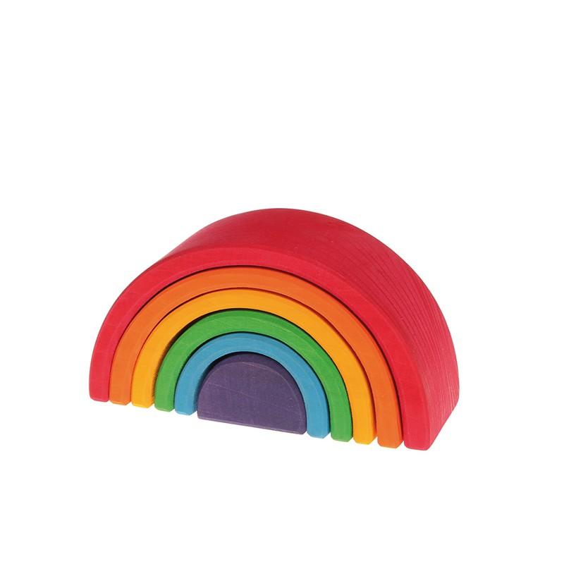 Grimm's Mini Rainbow (6 Pieces)