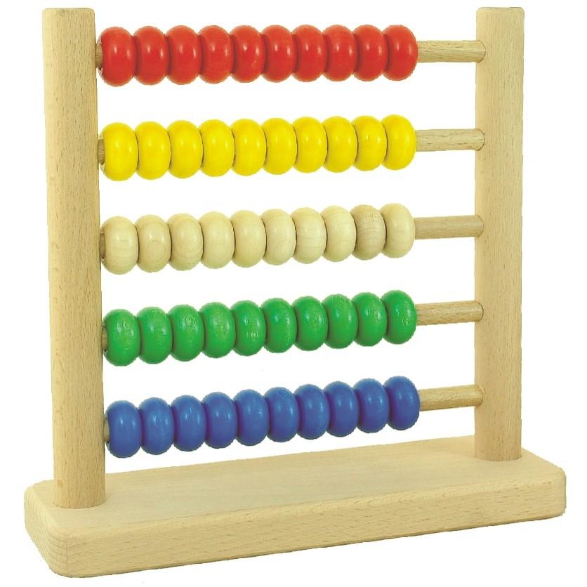 Bajo 50-Bead Tall Abacus