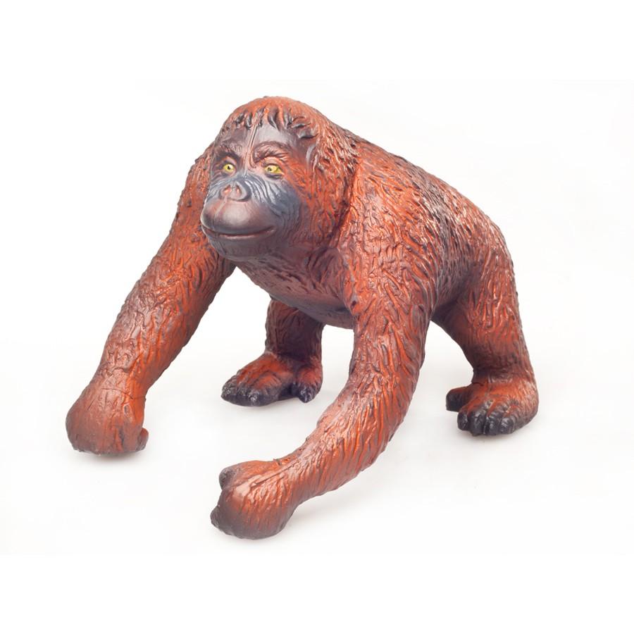 Green Rubber Toys Orangutan