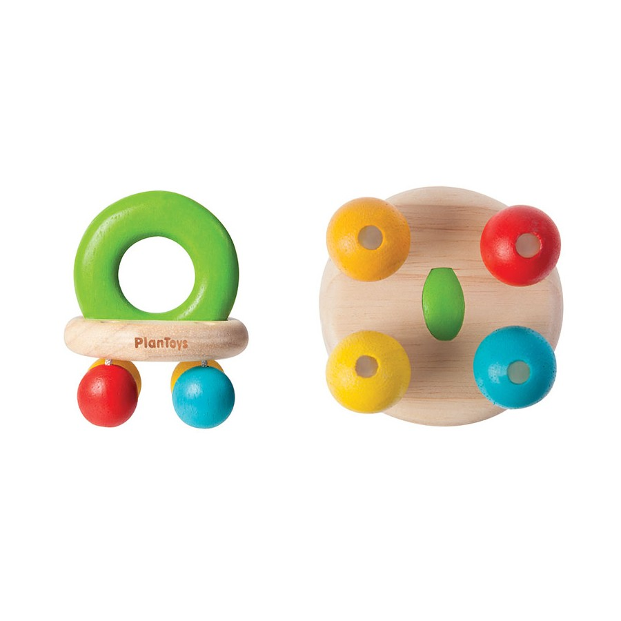 Baby Rattle Toys : Plan toys bell rattle