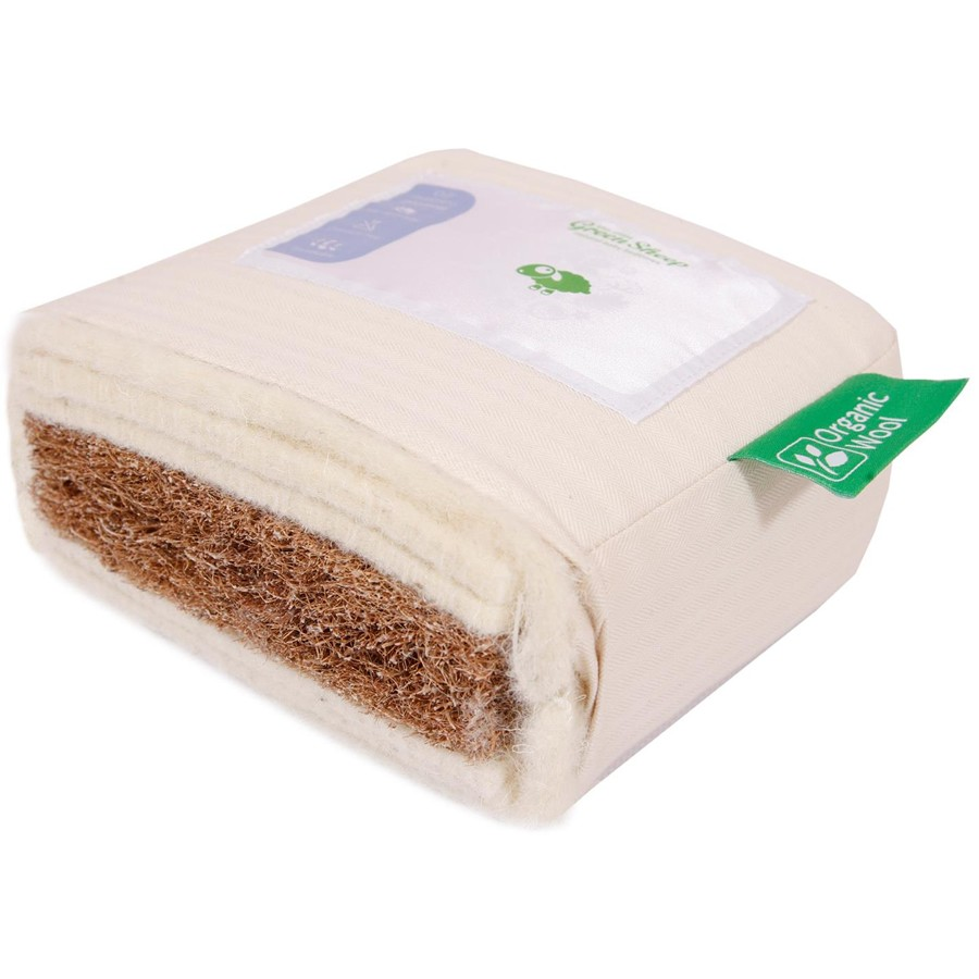 Organic Wool Standard Cot Mattress 70x140cm