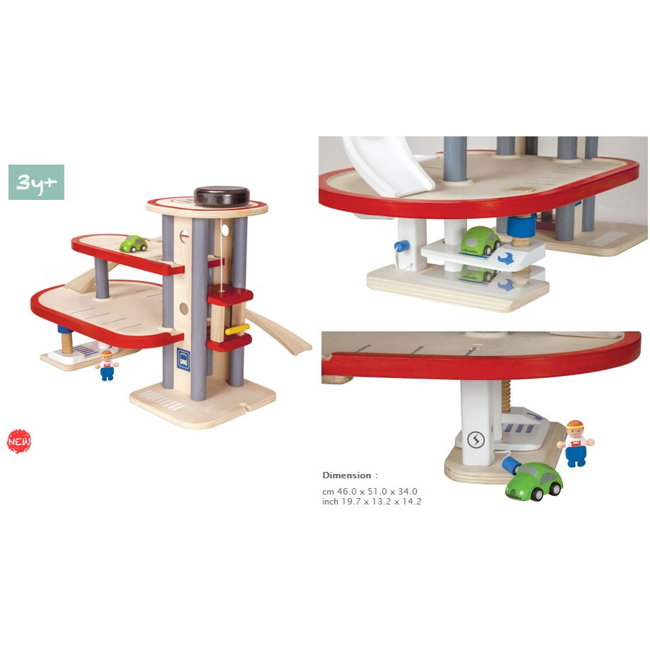 Wooden Toy Plans Catalog : Plan toys parking garage new model
