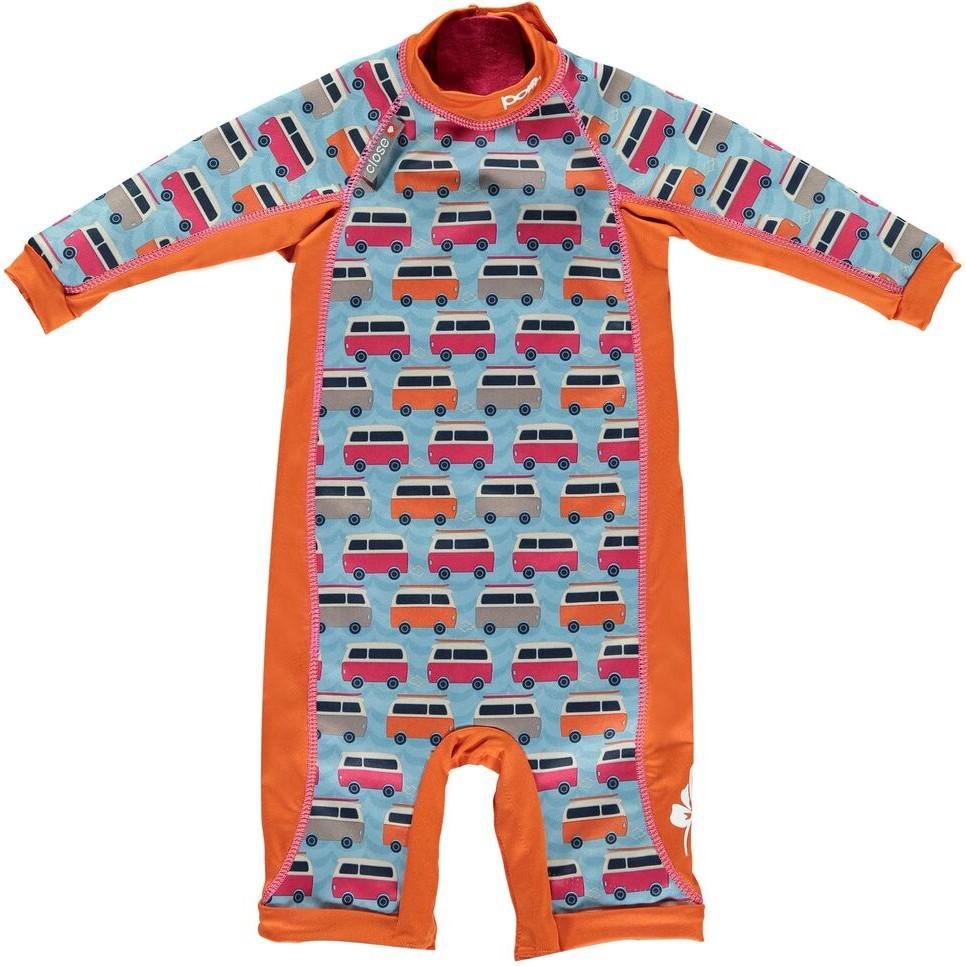 41ebdc54d4 Pop-In Blue Camper Toddler Snug Suit