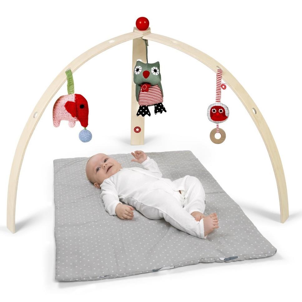 franck fischer baby gym. Black Bedroom Furniture Sets. Home Design Ideas