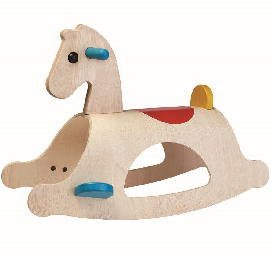 Wooden Toy Plans Catalog : Plan toys palomino rocking horse