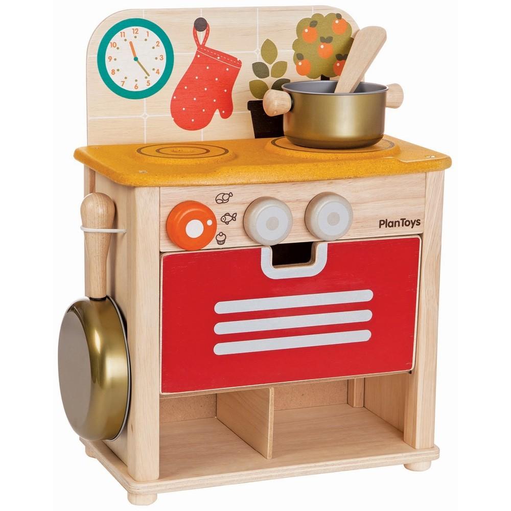 Toy Kitchen Appliances | Plan Toys Kitchen Set