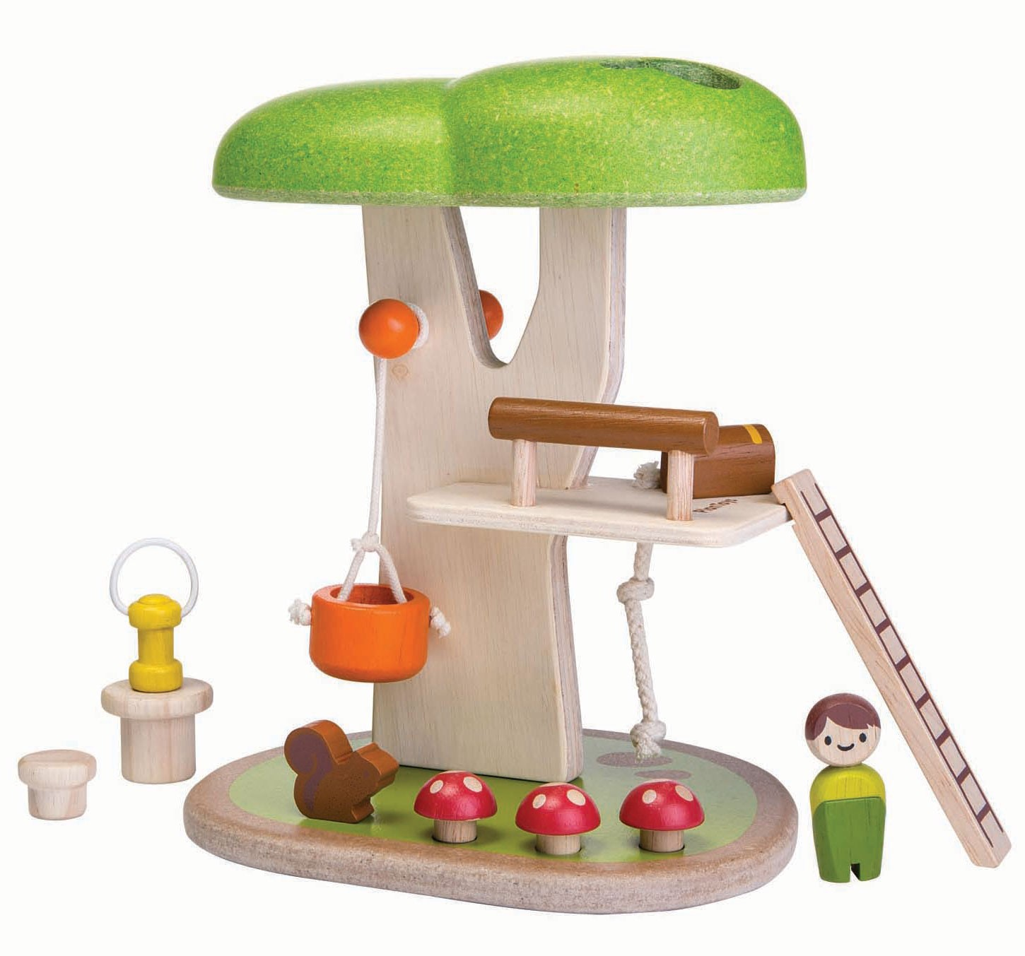 Wooden Toy Plans Catalog : Plan toys tree house planworld
