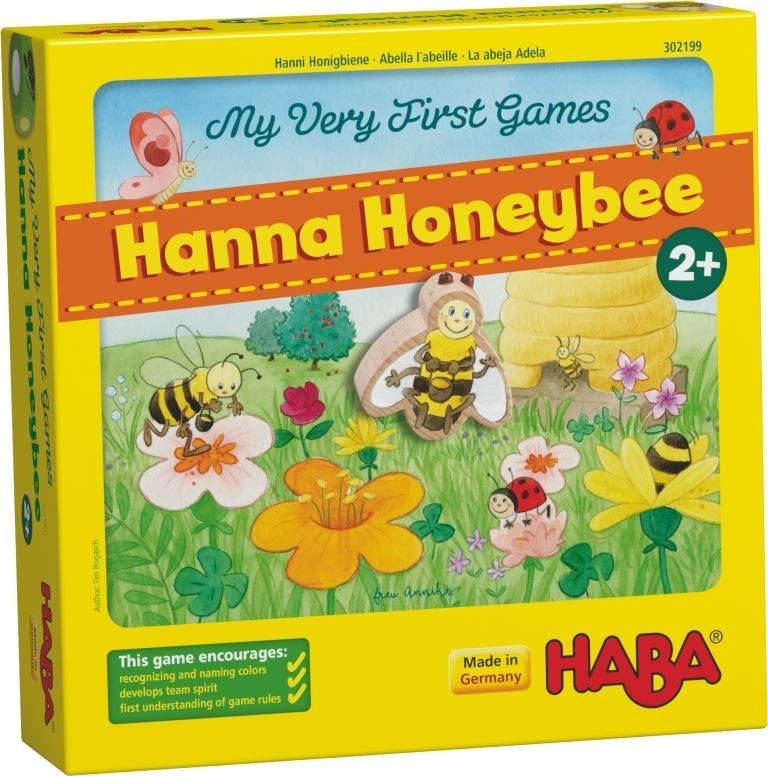 Haba My Very First Games Hanna Honey Bee