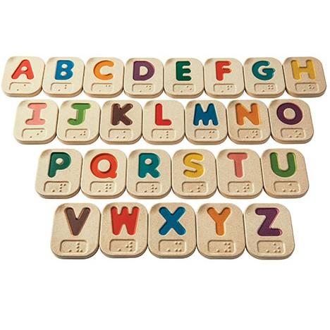 Plan Toys Braille Alphabet A Z
