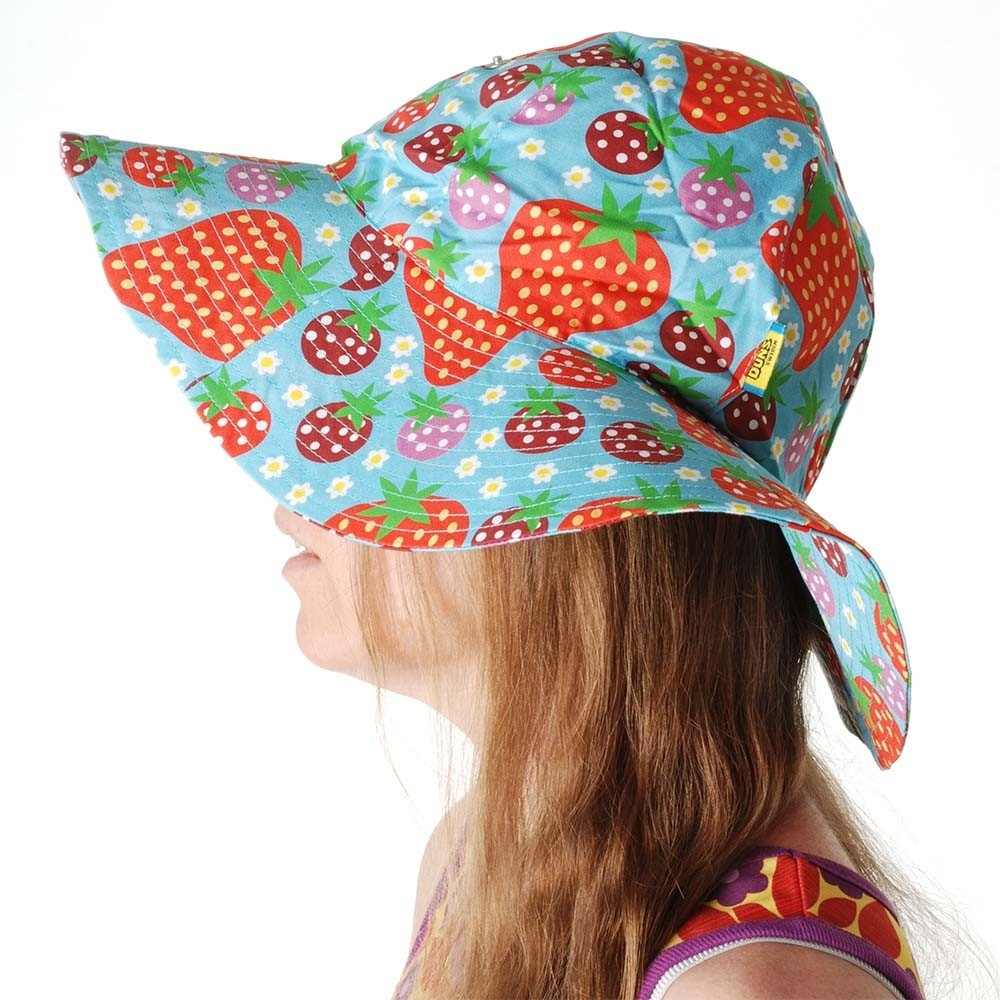 30d556636 DUNS Turquoise Strawberry Field Sun Hat
