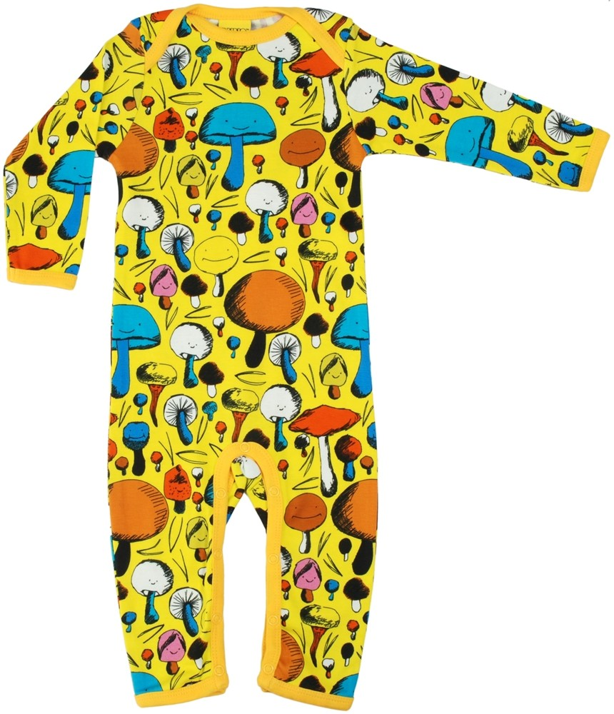 3a3ad40b9 DUNS Yellow Mushroom Long Sleeve Suit