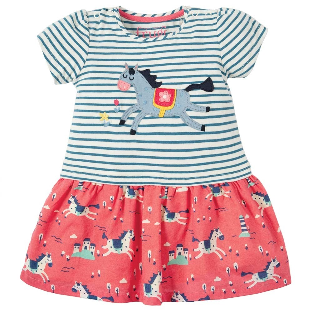 4b23343be82 Frugi Little Laura Horse Dress - skirts   dresses - ORGANIC BABY CLOTHES