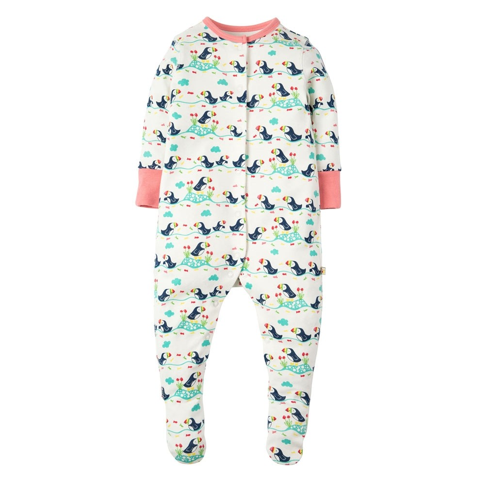 448038547d4b Frugi Puffin Parade Lovely Babygrow