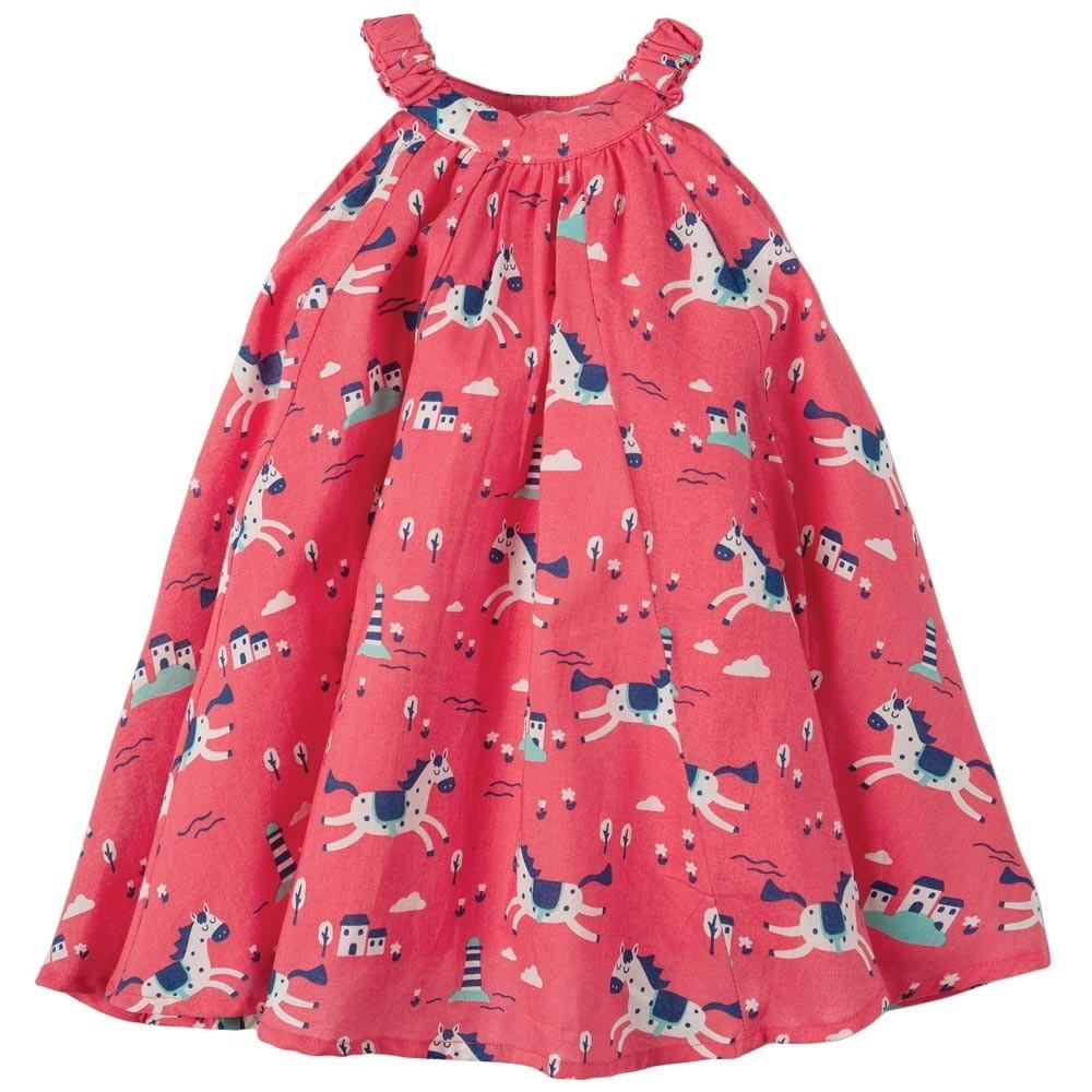 4e01e47144f Frugi Lyonesse Legend Little Tabitha Trapeze Dress