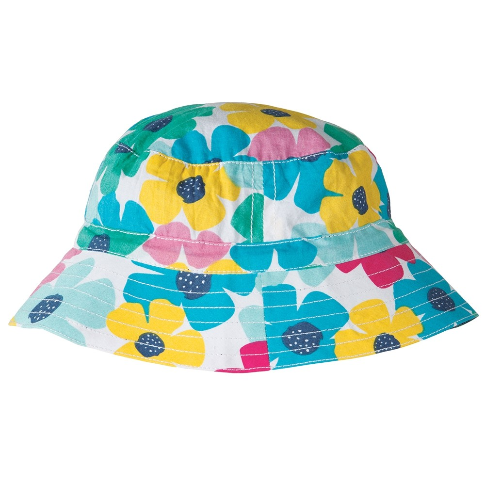 frugi poppy reversible sun hat