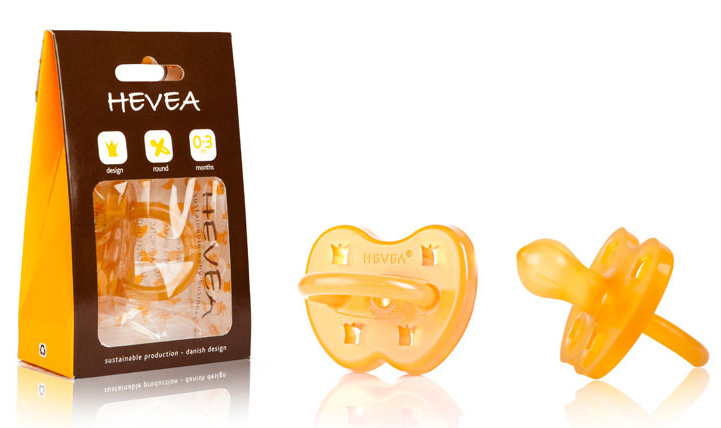 how to clean hevea pacifier