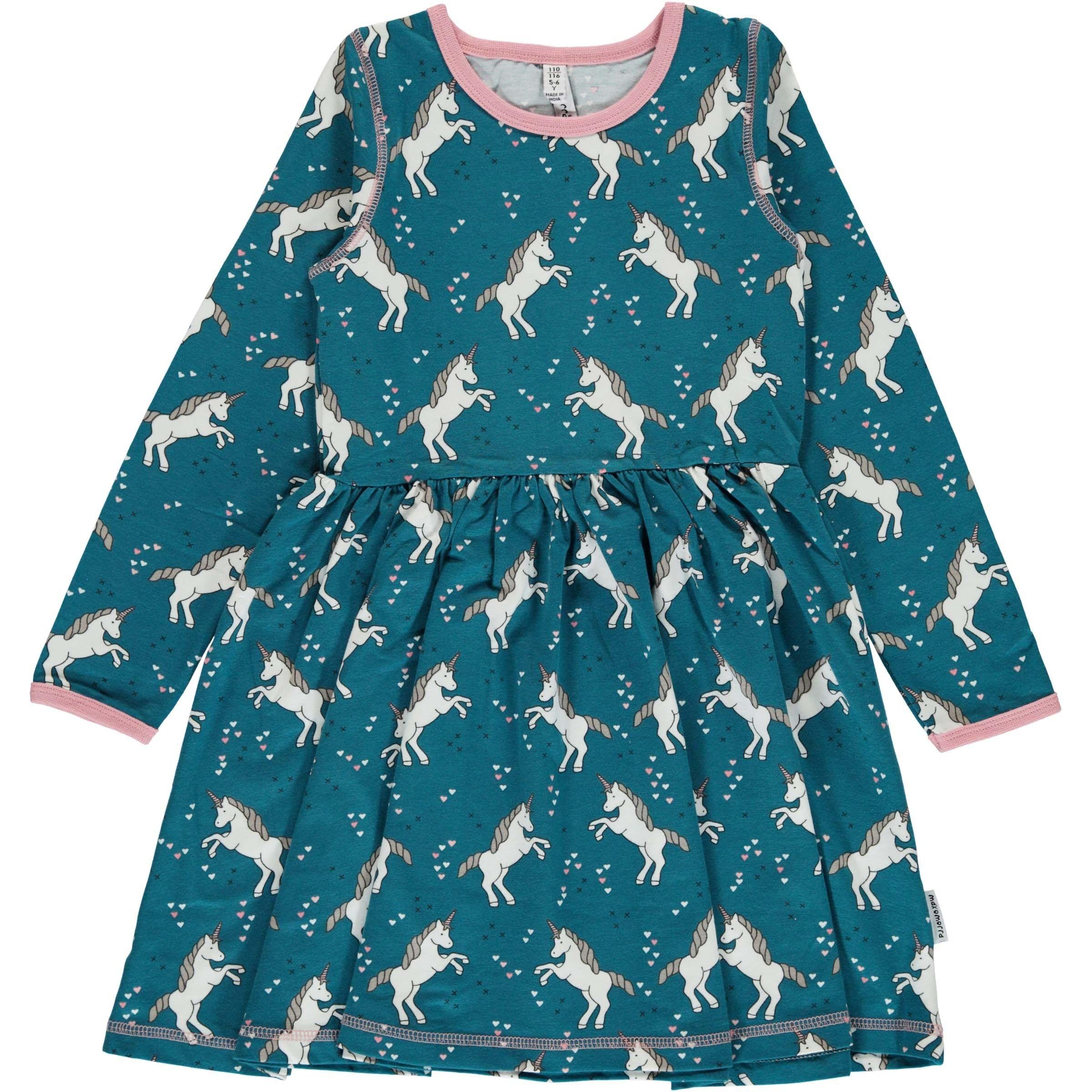b28003a6d4aff Maxomorra Unicorn Dreams LS Spin Dress