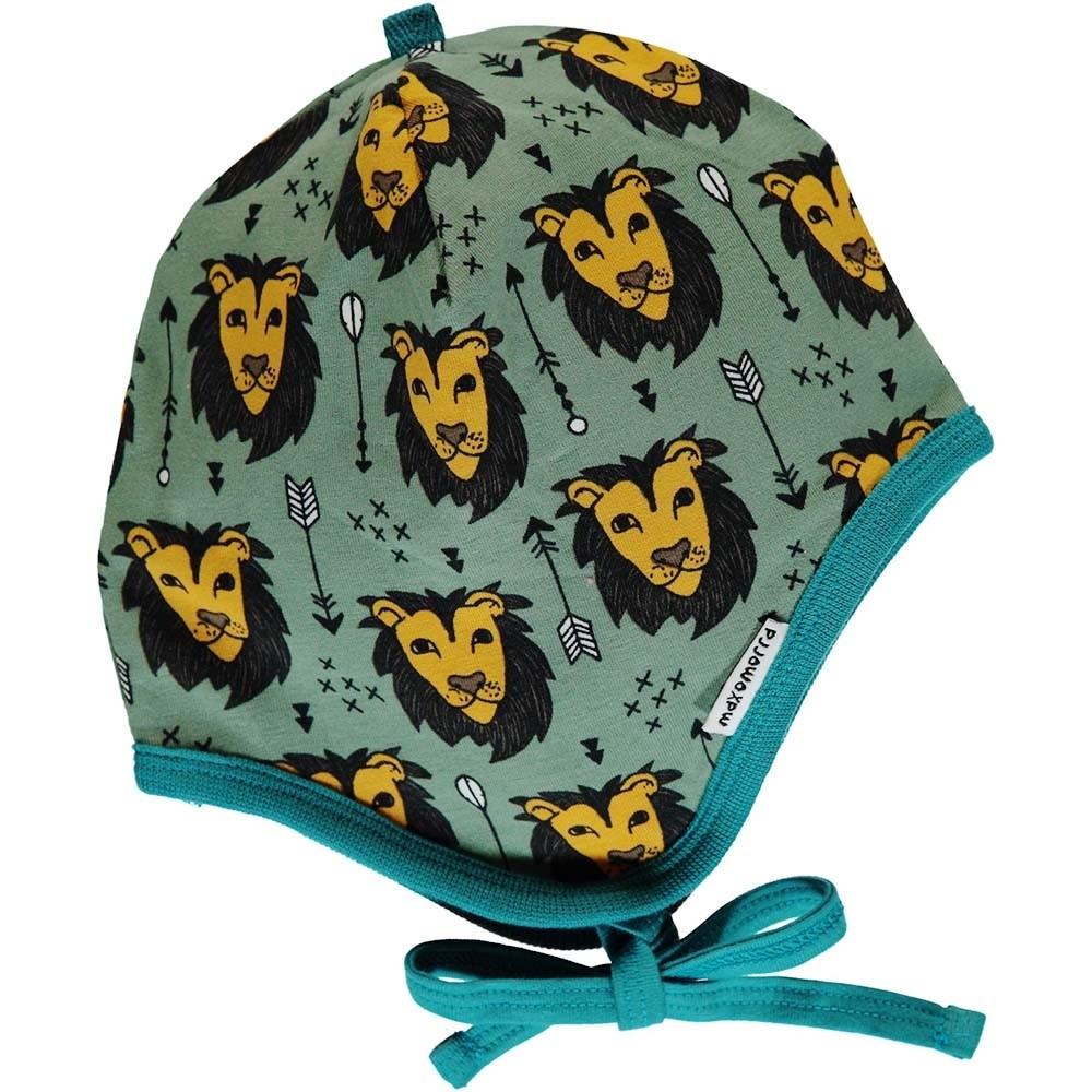 38d49ad10a1619 Maxomorra Lion Jungle Helmet Hat - organic baby hats - ORGANIC BABY ...