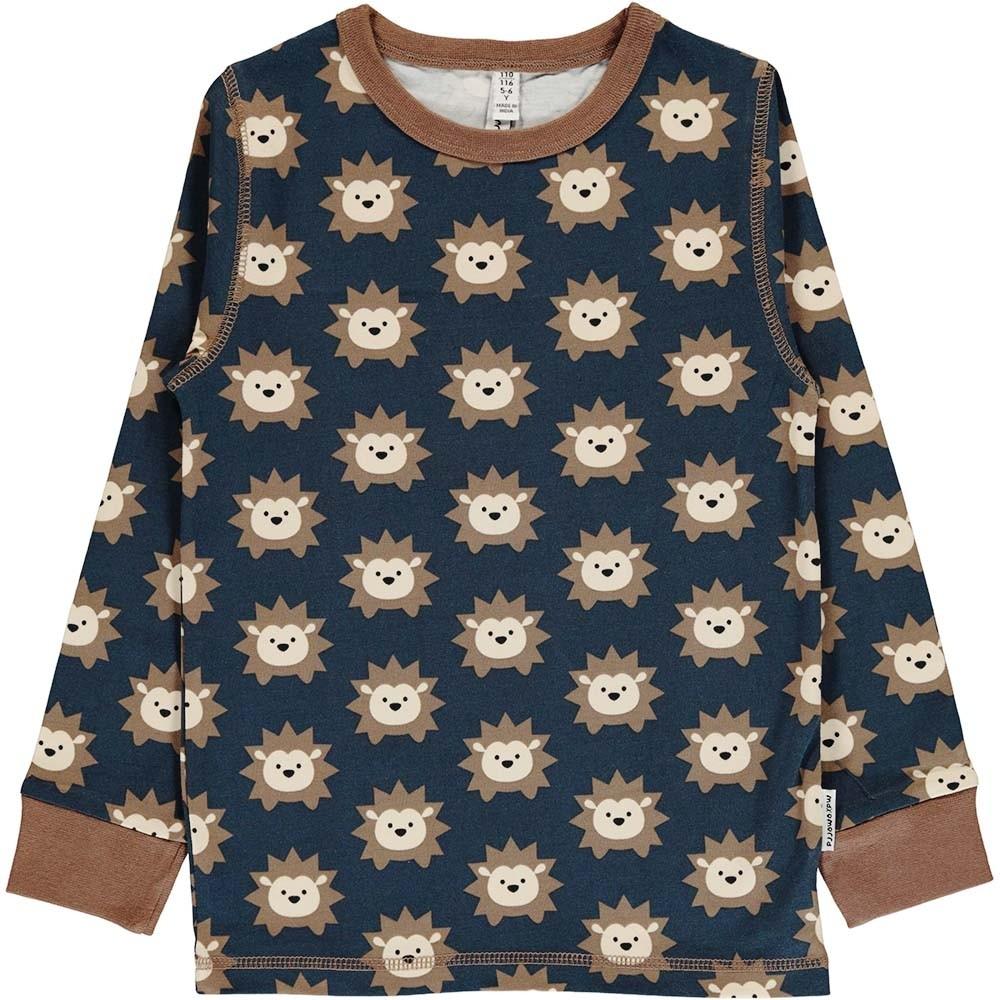 d870b5fcd46c Maxomorra Hedgehog LS Top - tops   t-shirts - ORGANIC BABY CLOTHES