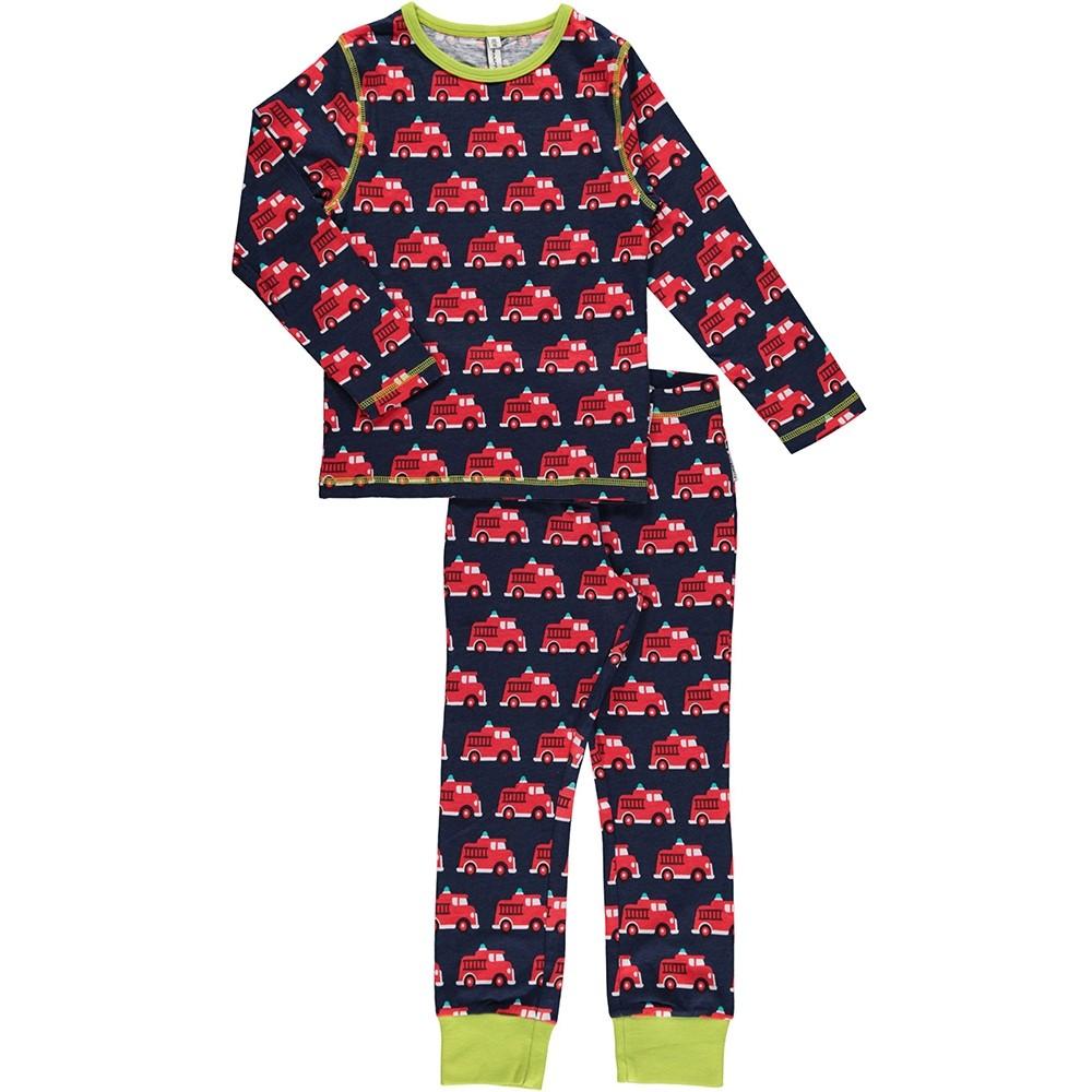 0084e6e33 Maxomorra Fire Truck LS Pyjamas