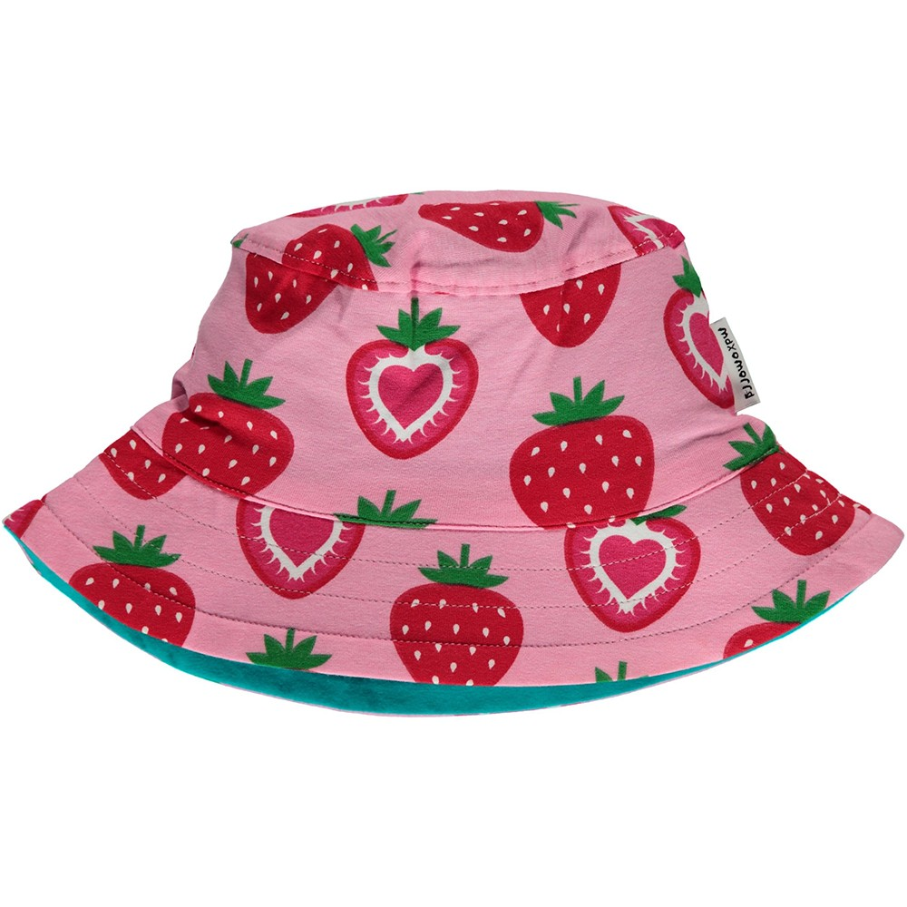Maxomorra Strawberry Sun Hat. Tap to expand 421ac8420df0