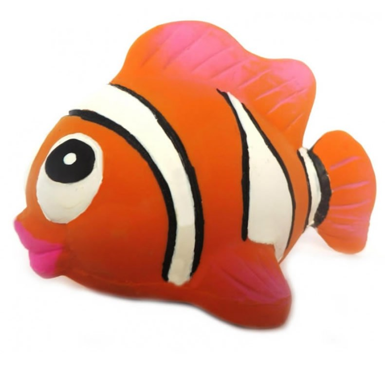 Nemo the clown fish Natural Rubber Toy