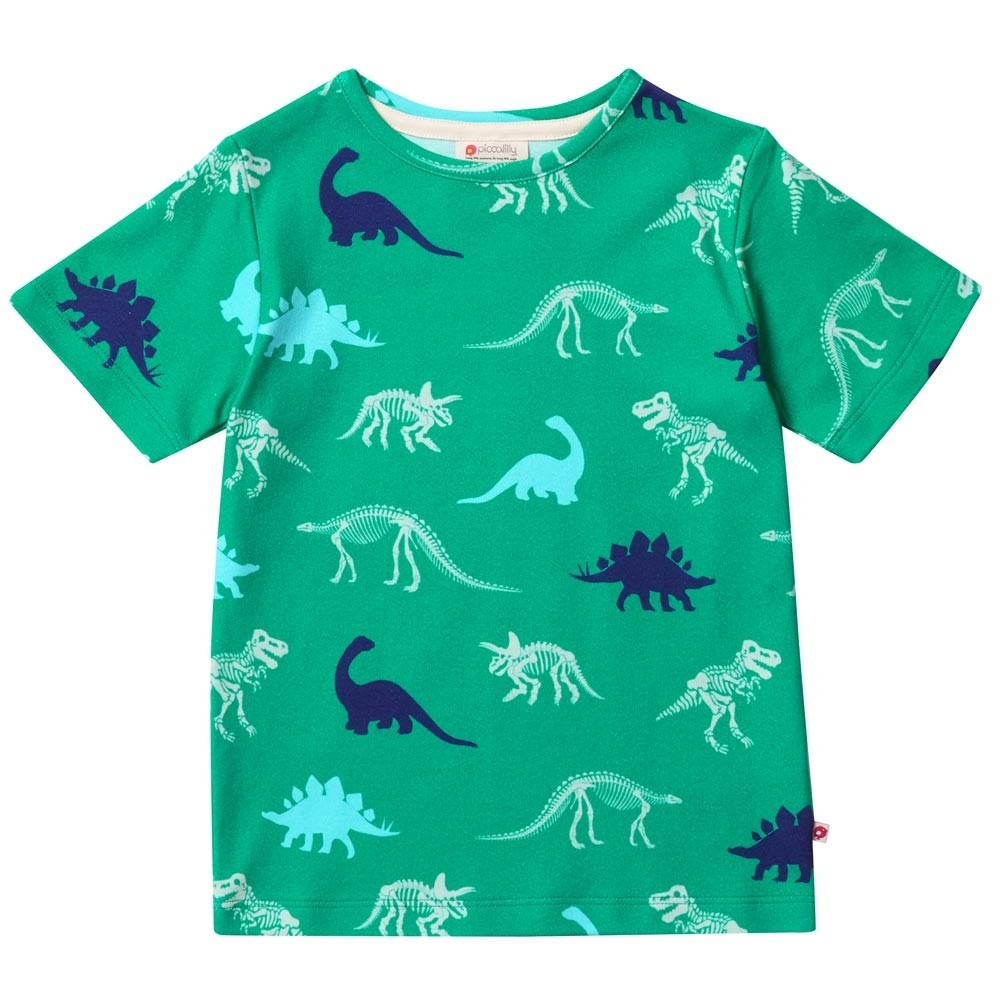 96b3e0590bd2 Piccalilly Dinosaur All Over Print T-Shirt