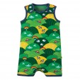 Frugi Rainbow Fields Lundy Dungarees