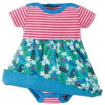 Frugi Daisy Chipmunks Body Dress