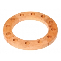 Grimm's 12-Hole Natural Wooden Ring