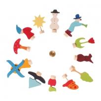 Grimm's 12 Assorted Decorative Figures