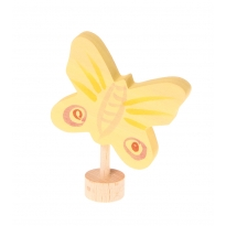 Grimm's Yellow Butterfly Decorative Figure