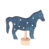 Grimm's Blue Horse Decorative Figure