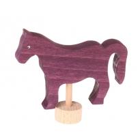 Grimm's Violet Horse Decorative Figure