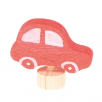 Grimm's Red Car Decorative Figure