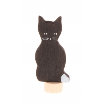 Grimm's Black Cat Decorative Figure