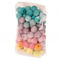 Grimm's 120 Pastel Beads 12mm