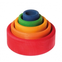 Grimm's Coloured Bowls (Outside Red)